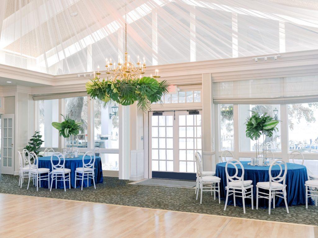 Wedding reception at Savannah Yacht Club