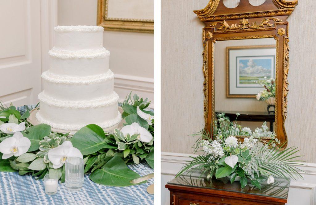 Wedding cake by Mollie Stone Cakes